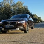 Frontal del Volvo V90 Cross Country