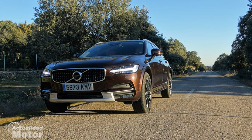 Prueba Volvo V90 Cross Country frontal