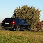 Tres cuartos trasero del Volvo V90 Cross Country