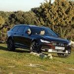 Prueba Volvo V90 Cross Country perfil