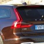 Prueba Volvo V90 Cross Country pilotos traseros