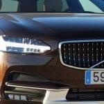 Prueba Volvo V90 Cross Country detalle del faro de led