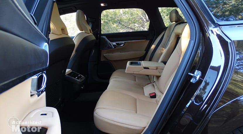 Prueba plazas traseras Volvo V90