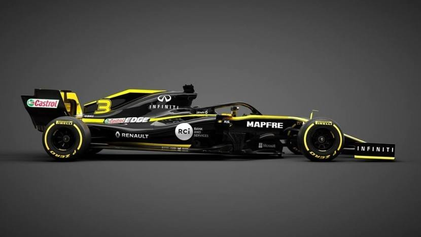 Lateral Renault RS19