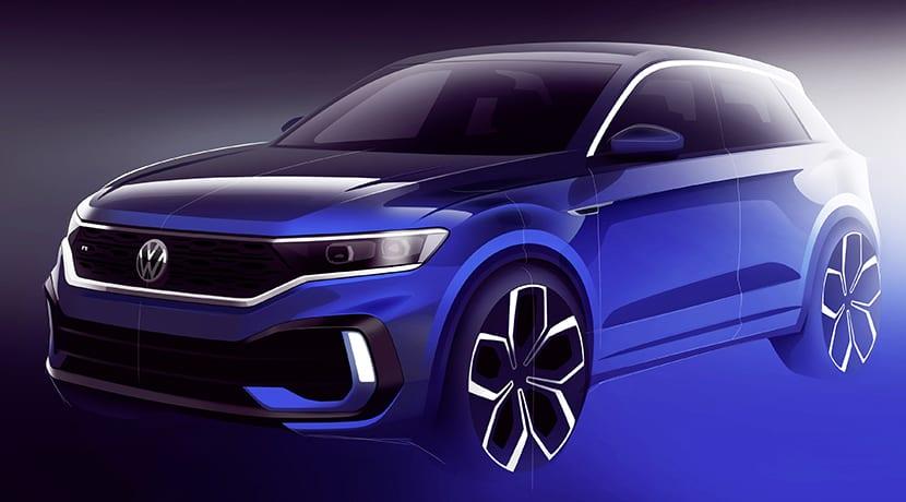 Volkswagen T-Roc R teaser