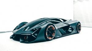 El primer híbrido de Lamborghini