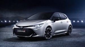 Frontal del Toyota Corolla GR Sport