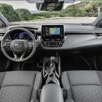 Toyota Corolla diseño interior salpicadero