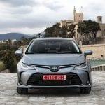 Prueba Toyota Corolla Sedán frontal