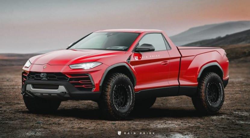 Lamborghini Urus pick-up
