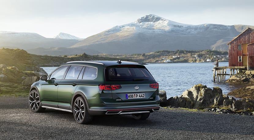 Volkswagen Passat Alltrack trasera