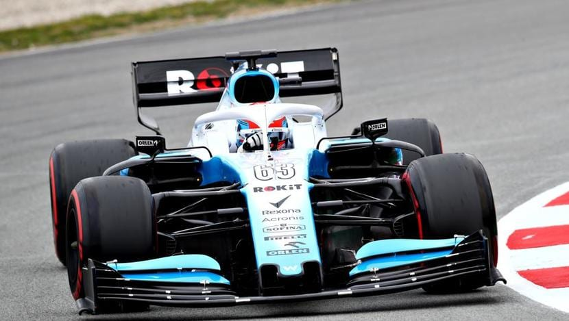 Williams en los tests de España