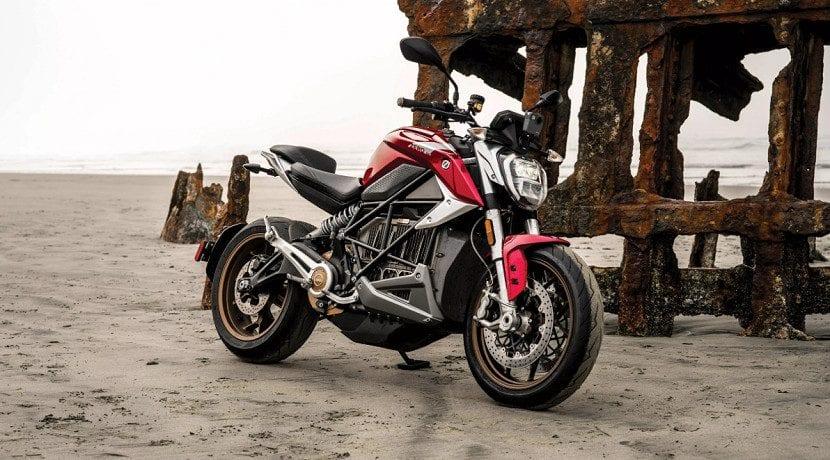 Moto eléctrica Zero SR/F