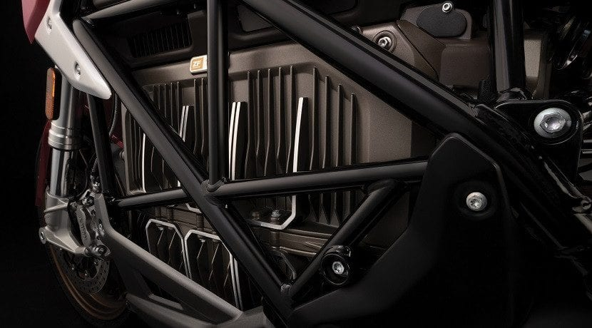 Baterías de la moto eléctrica Zero SR/F