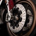Frenos de la moto eléctrica Zero SR/F