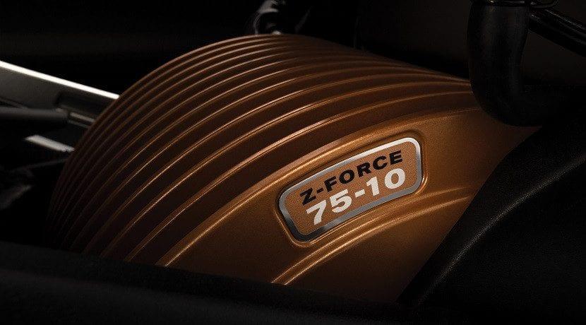 Motor de la moto eléctrica Zero SR/F