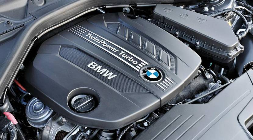 BMW motor diésel Twin-Turbo