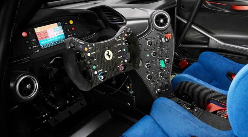 Ferrari P80/C Interior