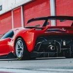 Ferrari P80/C Trasera