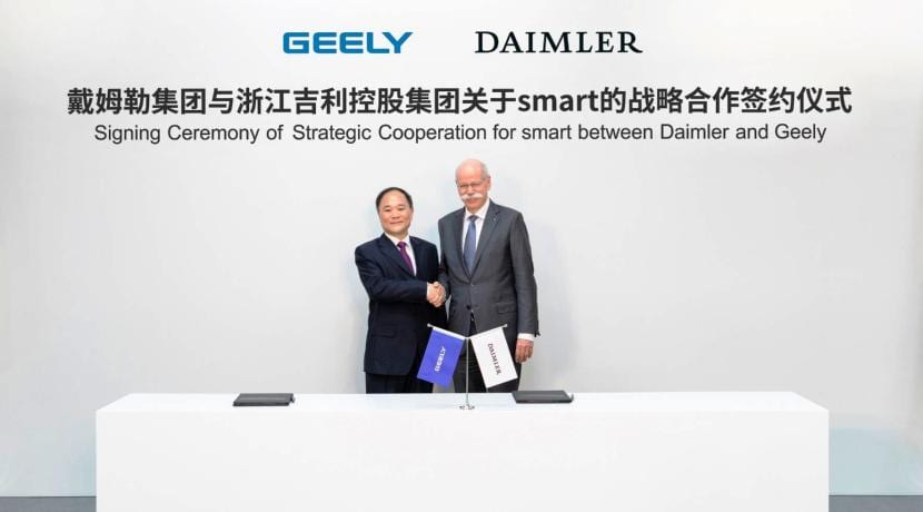 Geely - Daimler AG joint venture Smart
