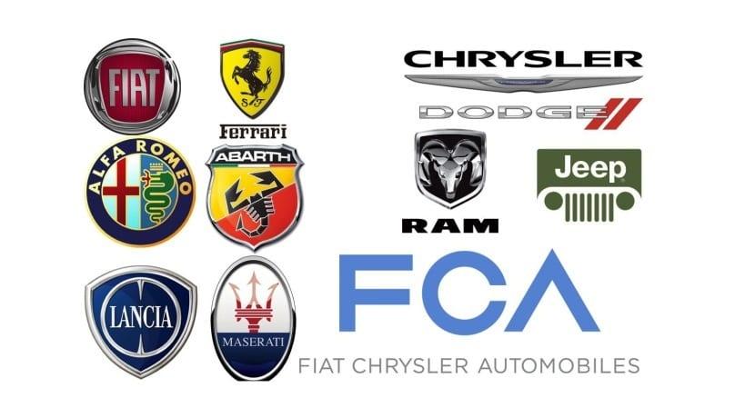 Grupo FCA logo marcas