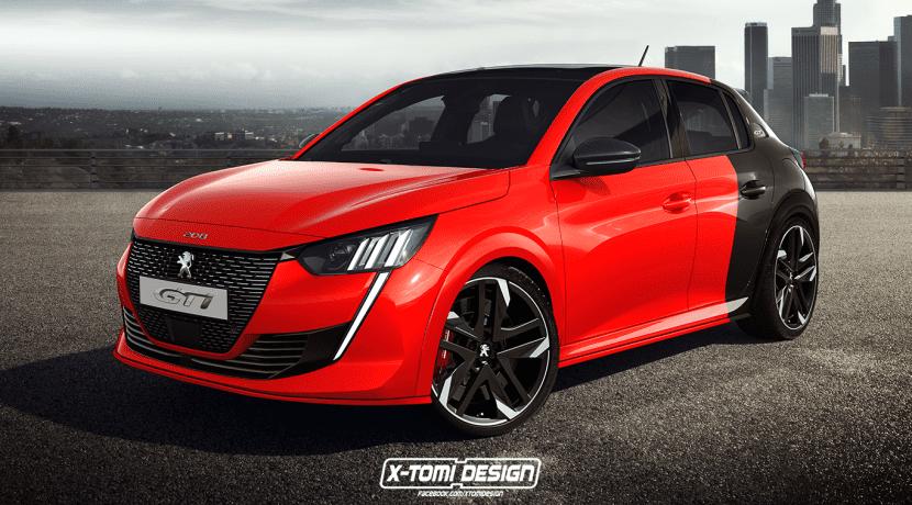 Peugeot 208 GTi X-Tomi Design