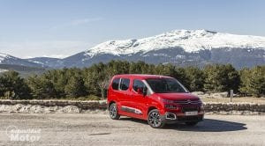 Prueba Citroën Berlingo Frontal