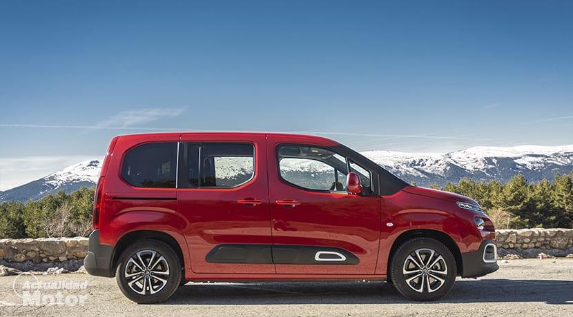 Prueba Citroën Berlingo Lateral