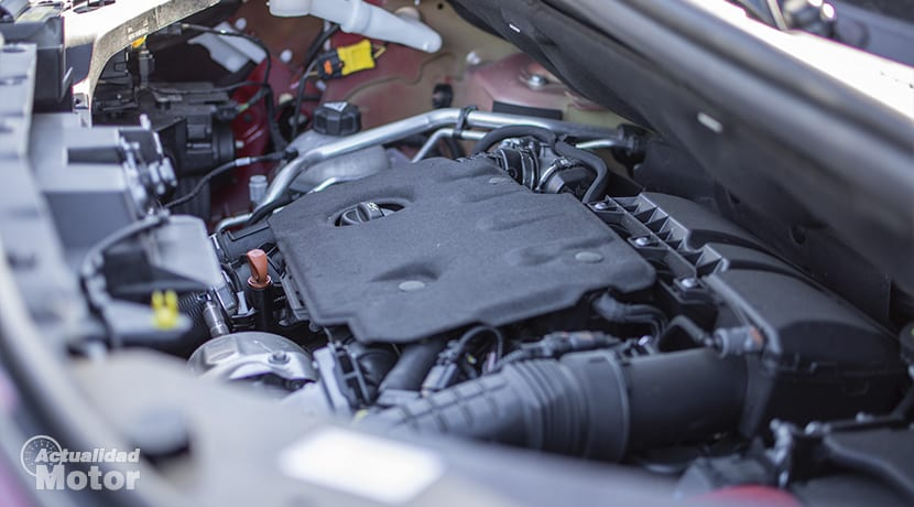 Prueba Citroën Berlingo Detalle motor