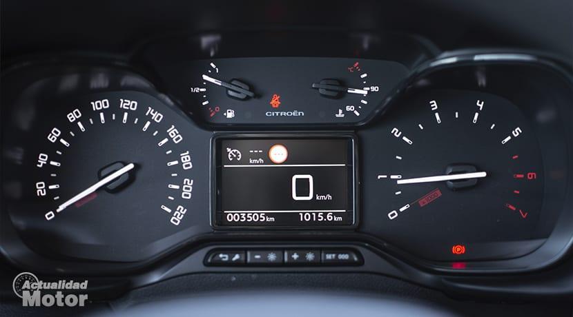 Prueba Citroën Berlingo Cuadro de instrumentos