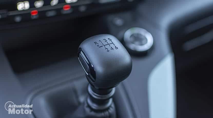 Prueba Citroën Berlingo Palanca de cambios
