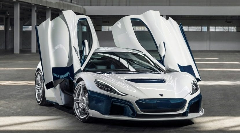 Rimac C_Two Galactic White