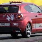 El Alfa Romeo MiTo Quadrifoglio Verde SBK Safety Car (955) de 2011