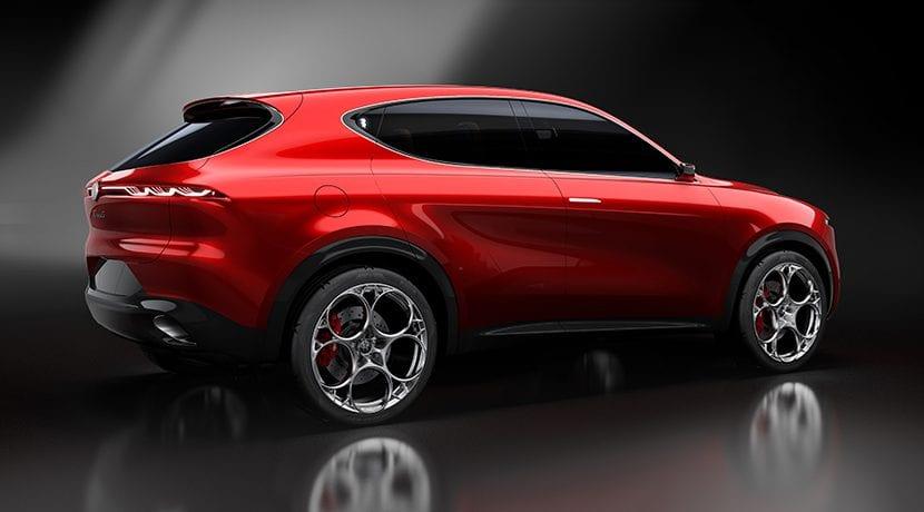 Alfa Romeo Tonale trasera