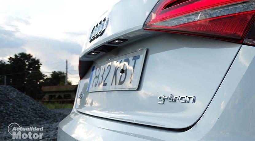Detalle Audi A3 Sportback G-tron