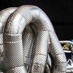 Aislantes térmicos del motor Audi de cuatro cilindros para el DTM