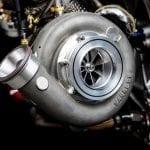 El único turbo del motor Audi de cuatro cilindros para el DTM