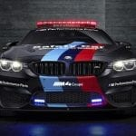 El BMW M4 Coupé Safety Car (F82) del MotoGP en 2015