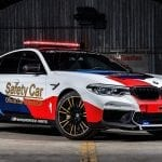 El BMW M5 Safety Car (F90) del MotoGP en 2018