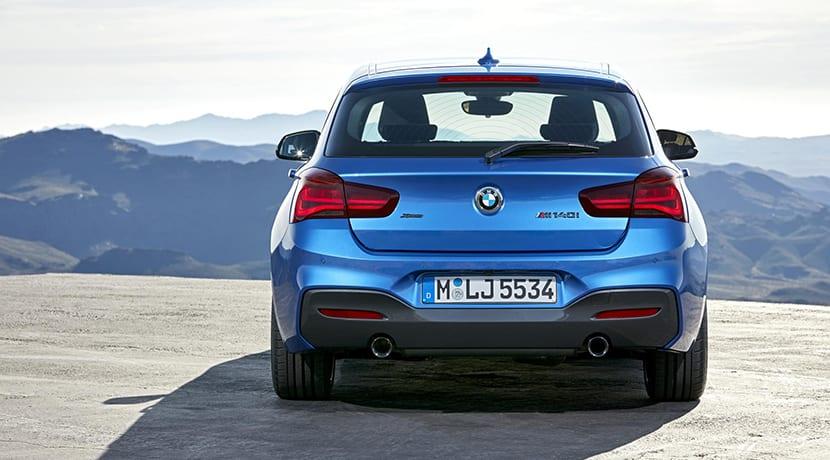 Parte trasera BMW Serie 1 M140i