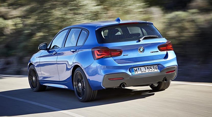 dinámica BMW M140i