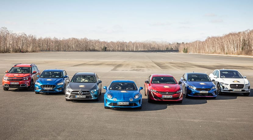 Car of the Year 2019 finalistas