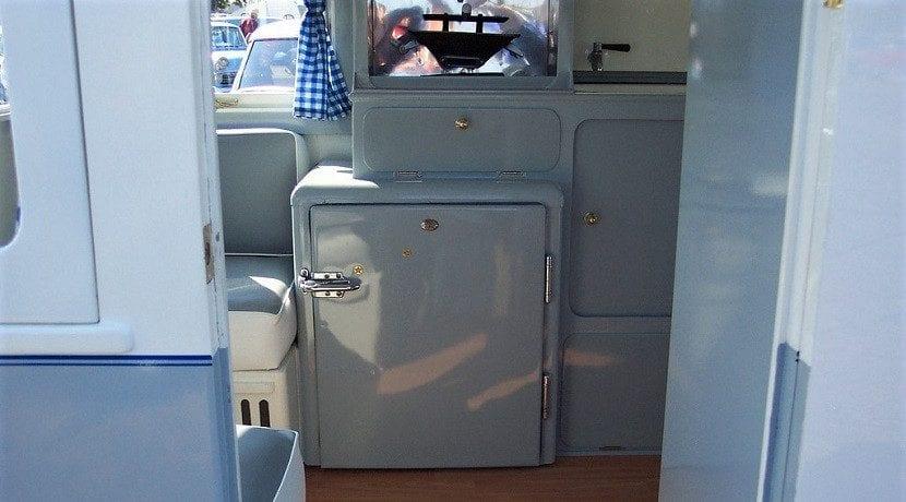 Revisar el interior de una caravana de segunda mano