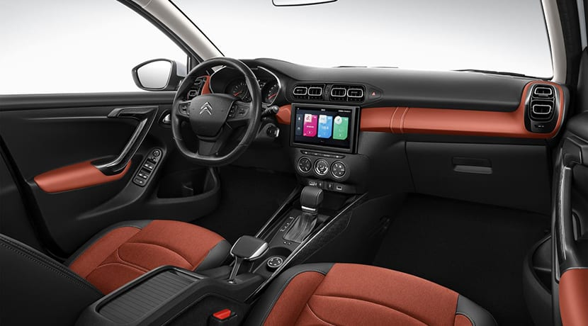 Interior del Citroën C3-XR