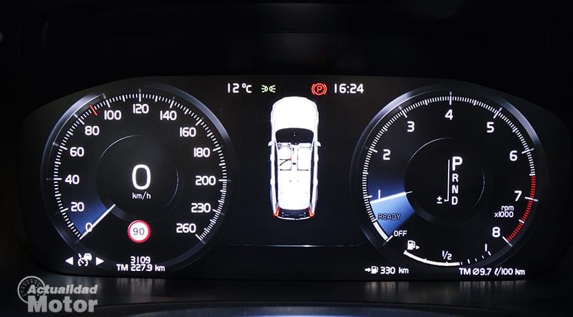 Cuadro instrumentos Volvo V90