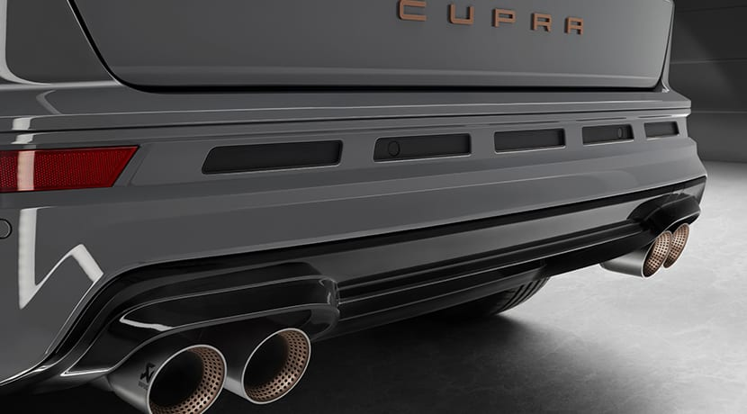 Escape Akrapovic Cupra Ateca Special Edition