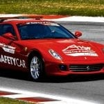 El Ferrari 599 GTB Safety Car de la A1GP de 2007 a 2009