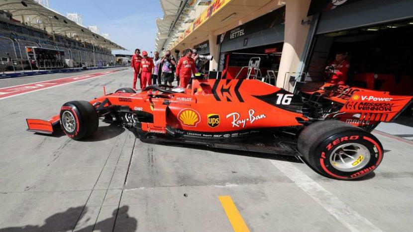 Ferrari en Barein 2019
