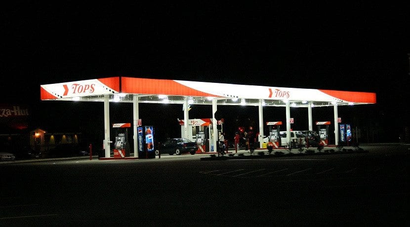 Volver a llenar el depósito para calcular el gasto de combustible