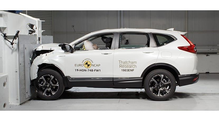Honda CR-V EuroNCAP
